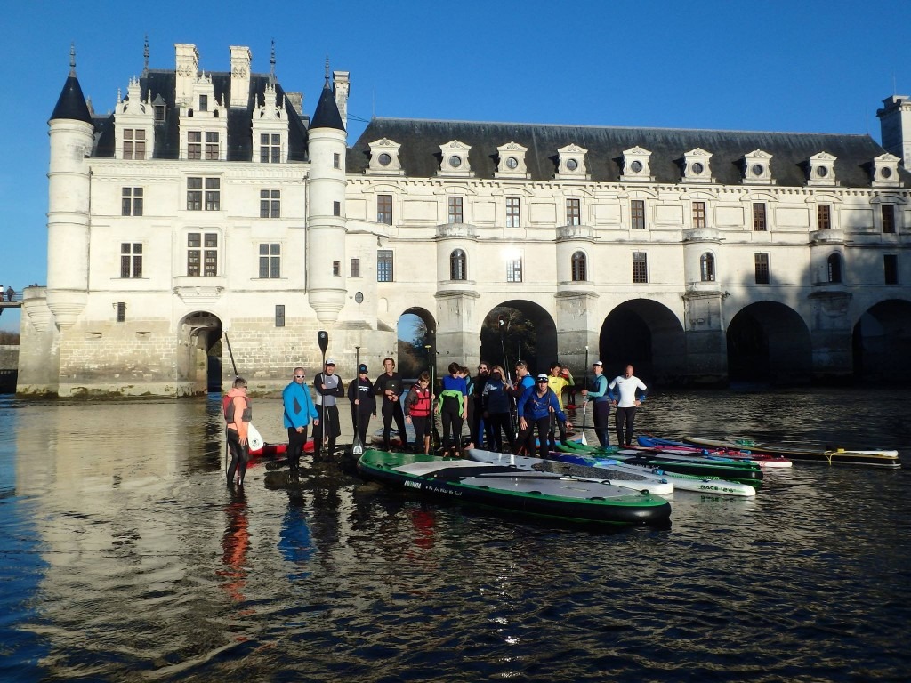 Sortie SUP Chenonceau 2015